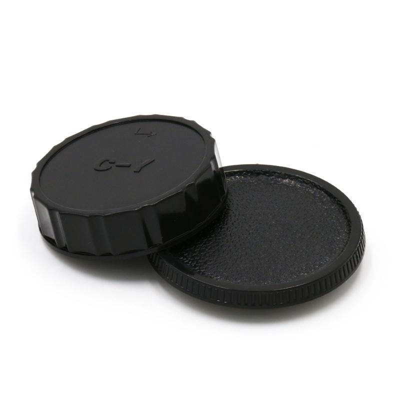 Contax/Yashica CY Mount Rear Lens Cap ฝาปิดท้ายเลนส์ + Body Cap ฝาปิดบอดี้