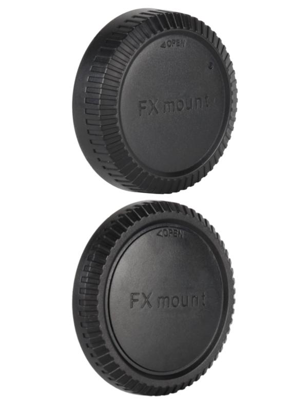 Fujifilm FX Rear Lens Cap ฝาปิดท้ายเลนส์ + Body Cap ฝาปิดบอดี้ Fuji X-Mount