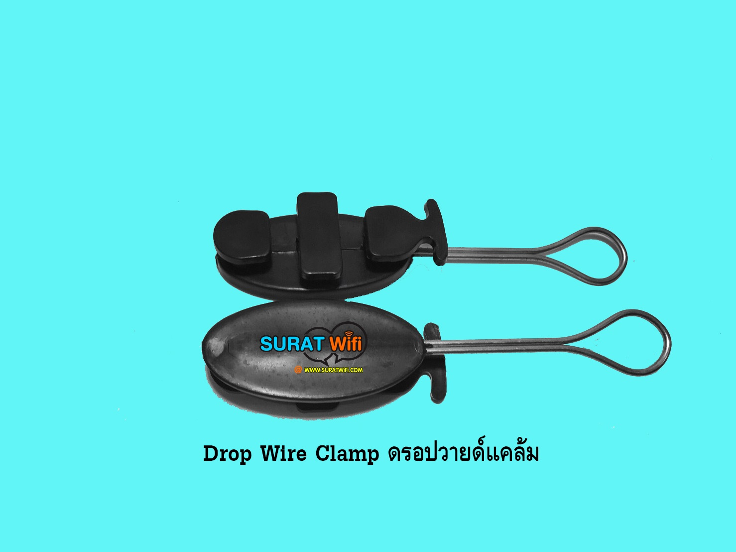 Drop Wire Clamp ดรอปวายด์แคล้มFTTx