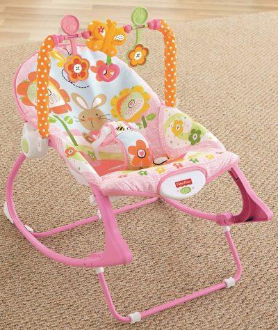 เปลสั่นอัตโนมัติ fisher price infant to toddler rocker bunny