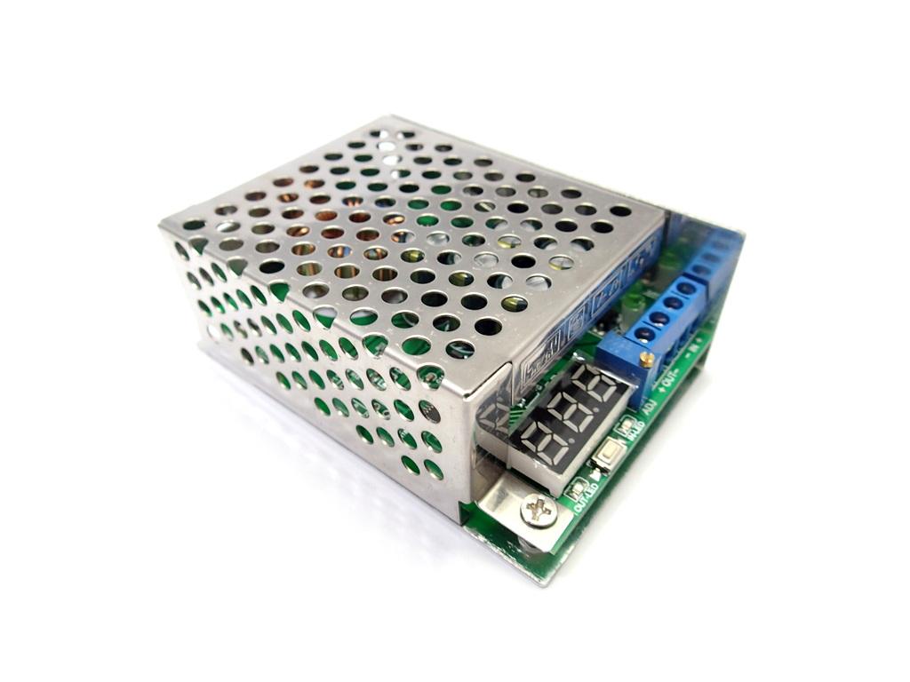 DC Step Down [3.5-30V to 0.8-29V] 8A 100W build-in voltmeter