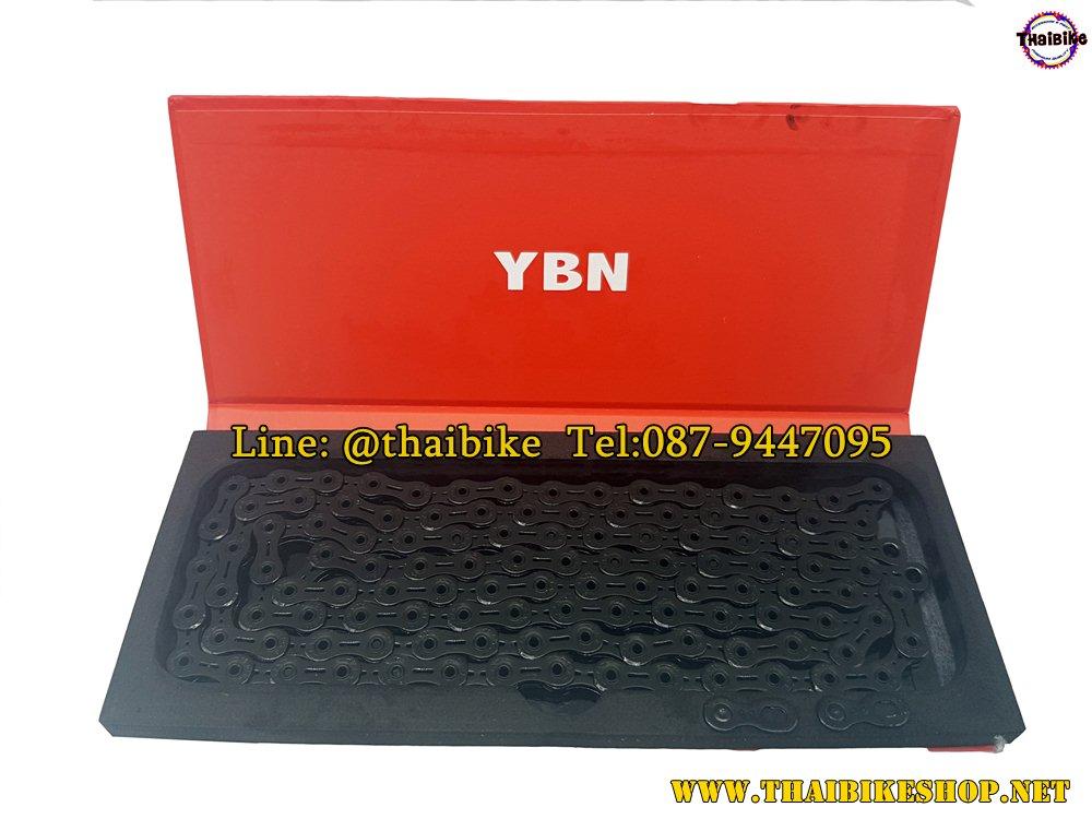 โซ่ YBN / 11sp. / 116L SLA-110-TIB for SHIMANO, CAMPAGNOLO AND SRAM