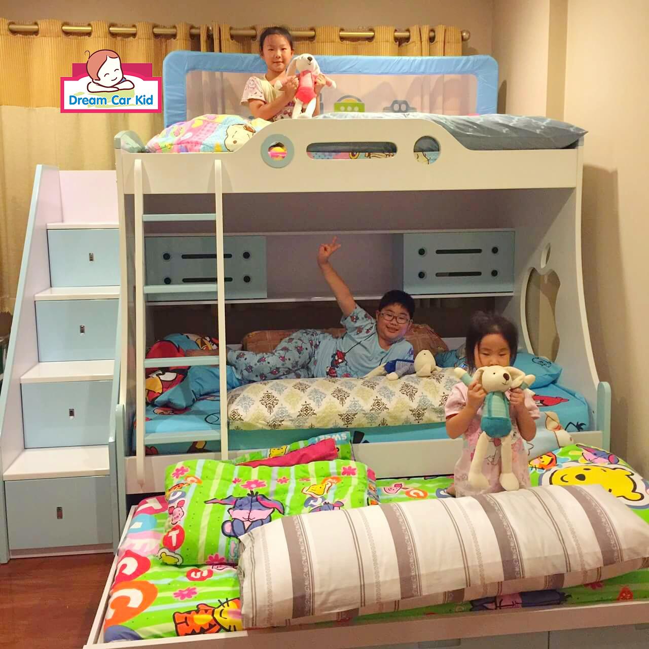 เตียง2ชั้น เติมความสนุกให้ห้องนอนเด็ก