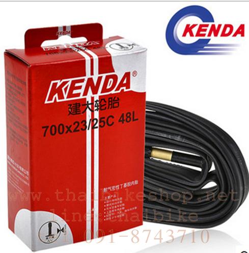 ยางใน KENDA 700X23/25C a/V 48L จุ๊บใหญ่