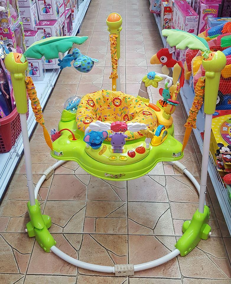 😉จั้มเปอร์ jungel jumper 😉รุ่นใหม่ล่าสุดๆ📌 music&lights when baby jumps!😊kyxl *** รวมส่งขนส่งนิ่มเอ็กเพรสคะ ***