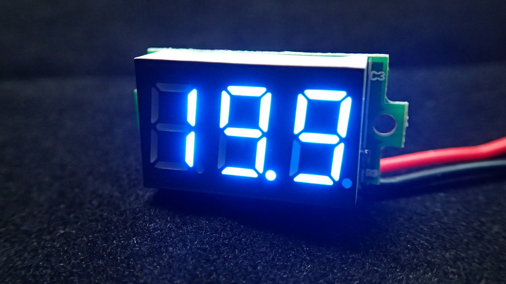 DC Digital Volt Meter 3.2-30V Two-Wire