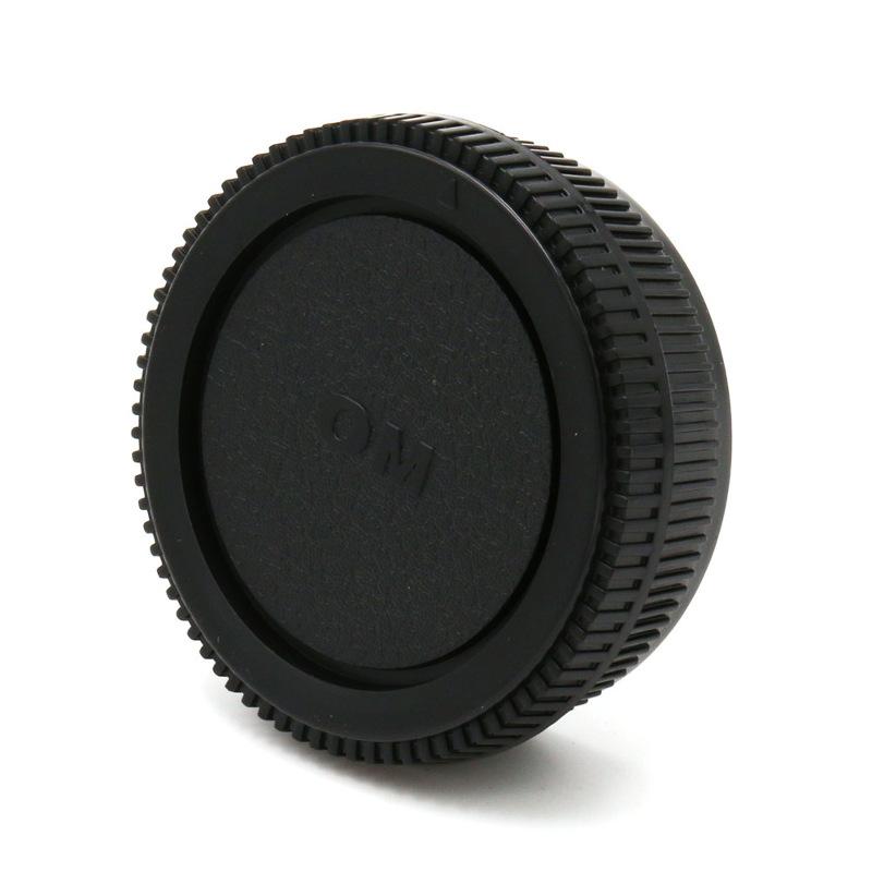 Olympus OM Mount Rear Lens Cap ฝาปิดท้ายเลนส์ + Body Cap ฝาปิดบอดี้