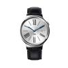 Huawei Watch หน้าปัดเงิน สายหนังสีดำถัก Pre-order ใช้เวลา 2 สัปดาห์