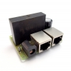 POE Splitter with 48V DC Step-Down to +12V/5V