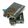 Fiber Media Converter FTTx RJ-45 100/1000Mbps 3KM.