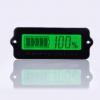 มิเตอร์วัดระดับแบตเตอรี่ 0-100% LCD 12V/24V/36/48V
