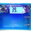 DIY ชุดวงจรที่ชาร์ตแบตสํารอง-Power Bank พร้อมกล่อง 5V/2A/1A LCD Display