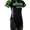 ชุดปั่นจักรยานแขนสั้นลายทีม GARMIN S10 กางเกงเป้าเจล