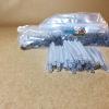 สลิปต่อสายไฟเบอร์แบบผอมเข็มลวดสแตนเลส 1.5mm