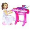 เปียโนสำหรับเด็ก 36-Keys Piano Toy Playset Pink Color พร้อมเก้าอี้นั่ง