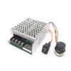 กล่องควบคุมทิศทาง-ความเร็วมอเตอร์ DC 10-55V 40A PWM 0-100%