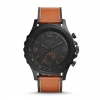 Fossil Q Nate Leather Hybrid Smartwatch