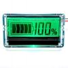 มิเตอร์วัดระดับแบตเตอรี่ 0-100% LCD 12V/24V