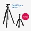 HPUSN 04625Lpro + 01922Lpro 4 in 1 Multi Function Tripod Monopod ขาตั้งกล้อง ทำเป็นขาเดี่ยวได้ พร้อมหัวบอล HP-221