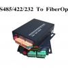 RS-485/422/232 to Fiber Optic Converters