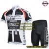 ชุดปั่นจักรยานแขนสั้นลายทีม BMC S7 กางเกงเป้าเจล
