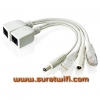 สายPOE (Power over Ethernet) สำเร็จรูป ฝากไฟไปกับสายแลน