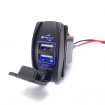 USB Car Charger 6-30V to 5V 3.1A