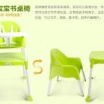 ก้าอี้กินข้าวเด็กทรงสูง ปรับระดับได้และปรับเป็นโต๊ะได้ 3in1 พร้อมส่งสีเขียว ฟ้า ชมพูส่งฟรี