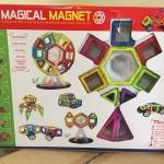 ของเล่น แม่เหล็กจาก Magical Magnet 71 ชิ้น