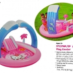 สระน้ำเป่าลมสไลด์เดอร์ Intex- 57137NP Hello Kitty