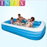 สระน้ำเป่าลม Intex สี่เหลี่ยมสีฟ้า แฟมิลี่เพลย์เซ็นเตอร์ Intex-58484 *** จัดส่งฟรีขนส่งเอกชนคะ **