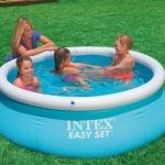 สระน้ำเป่าลมรุ่นยอดฮิตสำหรับเด็กๆ Intex East Set รุ่น 28101 ขนาด 6 ฟุต (183 x 51 ซม.)