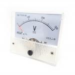 DC โวลต์มิเตอร์แบบเข็ม Analog 0-300V