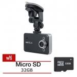 โปร B. กล้องติดรถยนต์ HDMI Portable FULL HD1080 รุ่น K6000 - สีดำ พร้อมเมม