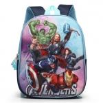 กระเป๋าเป้สะพายหลังเหล่า HERO มี 2ซิป