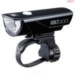 ไฟหน้า CATEYE VOLT200, HL-EL151RC, สีดำ