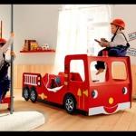 เตียงรถดับเพลิง (fire engine bed)
