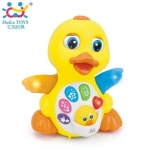Huile Toys Plappy yellow duck (Yellow)