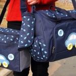 กระเป๋าสีน้ำเงิน (เซท 3 ใบ)