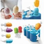 บล็อกทำไอติม (Fish ice pop molds-6 sticks)