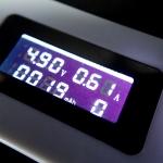 มิเตอร์วัดความจุที่ชาร์จแบตสำรอง Power Bank mAh Meter