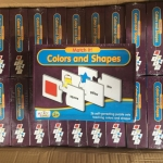 จิ๊กซอว์ ตัวต่อ จับคู่ภาพกับคำศัพท์ เกี่ยวกับสีและรูปทรง Match-it Colors and Shapes