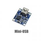 Mini-USB 3.7V 1A 1-Cell Lithium Battery Charger Module