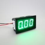 "DC ดิจิตอลแอมมิเตอร์ 0-10A Built-in Shunt 0.56"" [Green]"