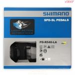 บันใดชิมาโน่เสือหมอบ PD-R540-LA, (Light Action) สีดำ (ไม่มีทับทิม), มีกล่อง
