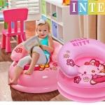 เก้าอี้โซฟาเป่าลมราคาส่ง สำหรับเด็ก Hotdeal INTEX Hello Kitty รุ่น In48508NP สีชมพู