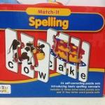 ชุดจิ๊กซอว์ต่อภาพและคำศัพท์ DIY Play Puzzle ชุด Match-It! Spelling