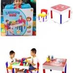 โต๊ะต่อบล็อค ตัวต่อ เลโก้ Lego 2in1