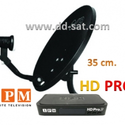 จานดาวเทียม IPM HD PRO3