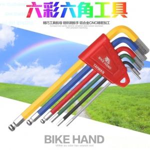 เครื่องมือหกเหลี่ยม BIKE HAND YC-613-6C